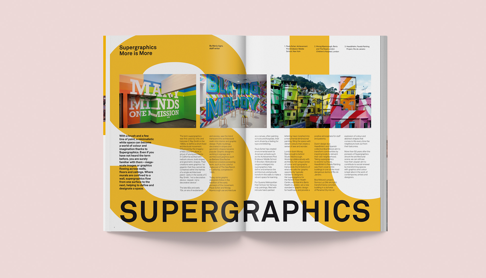Supergraphics More is More